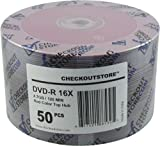 CheckOutStore 100 16X DVD-R 4.7GB Red Top