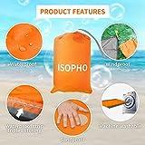 ISOPHO Beach Blanket, 79''×83'' Picnic Blankets