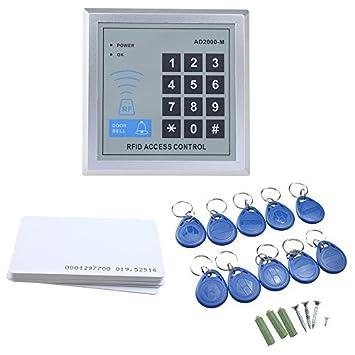 Amazon.com: AGPtek – Seguridad Electrónica RFID Puerta ...