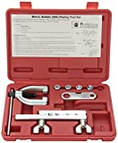 Neiko 20657A ISO/Bubble Flaring Tool Kit, 9 Piece | Includes Blow-Molded Case