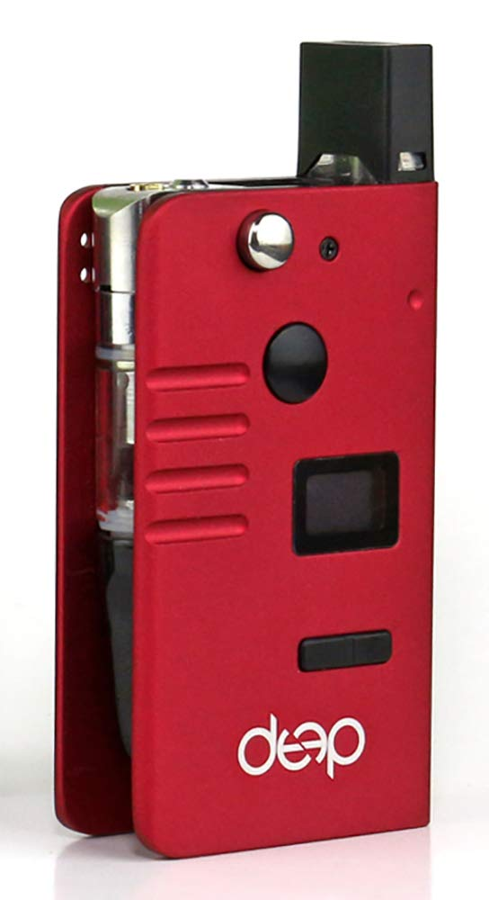Cartridges and Pods Compatible DeeP Kit Box (Cartridges and pods not Included) - (Red)