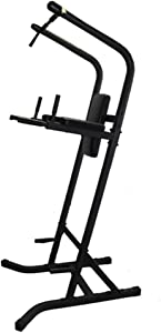 Amber Fight Gear Multi Station Space Saver VKR Power Workout TowerWorkout Dip Station Pull Up Push Up for Home or Office Gym Strength Training Fitness Equipment