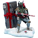 Kurt S. Adler 8-Inch Fabric Mache Star Wars Boba Fett Tablepiece Christmas Décor