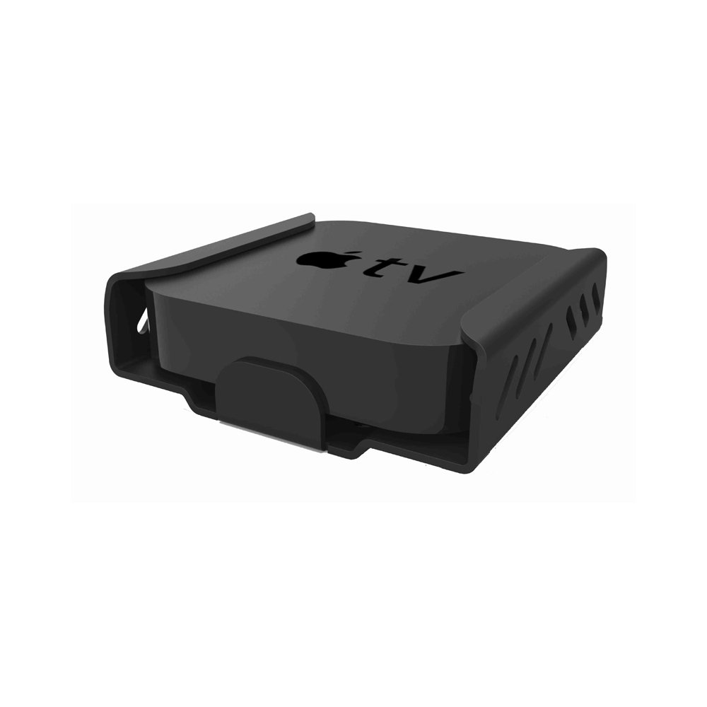Maclocks ATVEN73 Apple TV Security Mount Enclosure (Black) by Compulocks