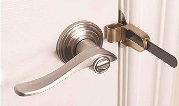 Heavy Duty Travel Door Lock Simple /& quick.