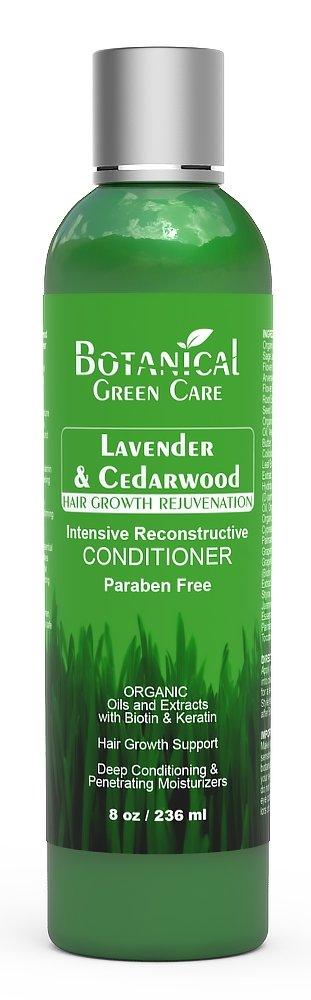 "Hair Loss Prevention Therapy Premium OrganicDeep Moisturizing & Intensive Reconstructive Conditioner""Lavender & Cedarwood"""