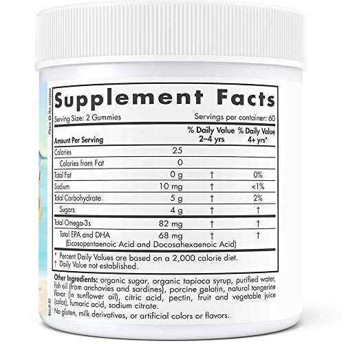 Nordic Naturals - Nordic Omega-3 Gummies, Supports Optimal Brain and Immune Function, 120 Count by Nordic Naturals (Image #2)'