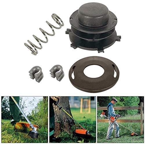 - Maikouhai Trimmer Head Part for Stihl 25-2 Trimmer Head Rebuild KIT FS 44 55 80 83 85 90 100 110 120 130, Garden Feed Line Trimmer Lawn Mower Accessories, Black