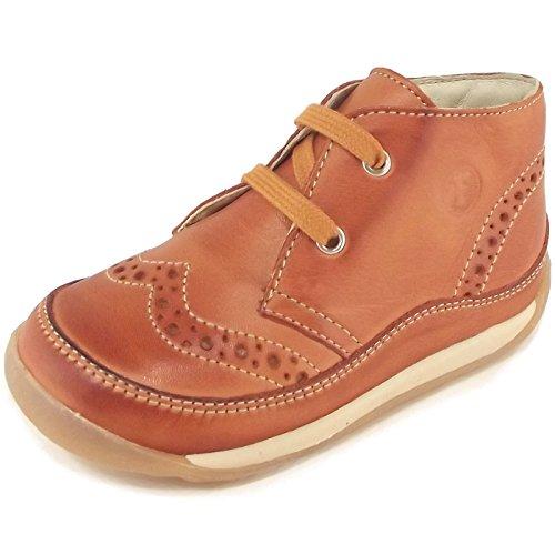 Naturino - Zapatos primeros pasos de napa para niña Marrón - ockerfarbig (ocra)