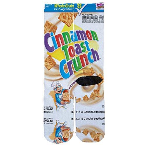 Memo Apparel Cinnamon Toast Crunch Custom Socks