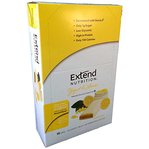 Extend Bar, Yogurt and Lemon, 1.48 oz. Bars (15 Count)