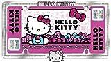 Chromagraphics Hello Kitty Diamond Stud License Plate Frame