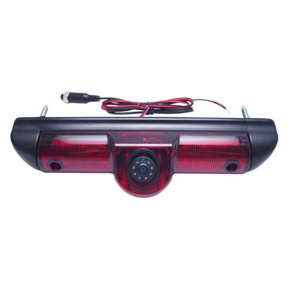 ETbotu Veicolo Auto Luce Freno retromarcia Telecamera HD Telecamera Posteriore per Ducato Boxer Jumper
