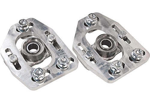 - Steeda Caster Camber Plates Aluminum for 1979-89 Ford Mustang