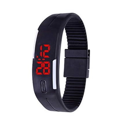 TrifyCore Relojes de pulsera de silicona Reloj de pulsera digital para niños Reloj de pulsera LED