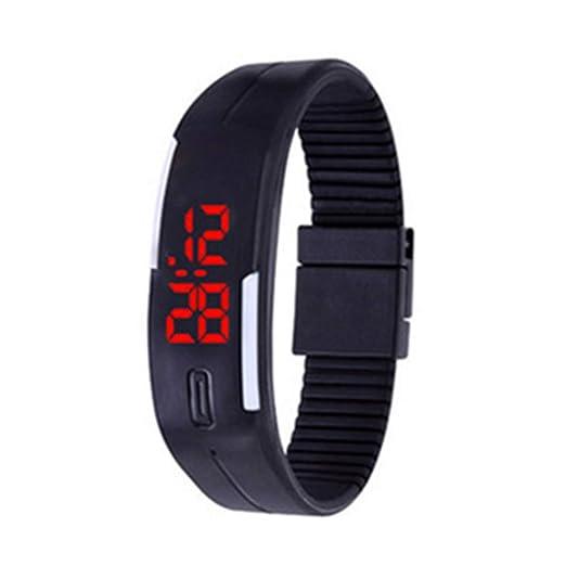 Relojes Digitales Relojes electrónicos Reloj de Deporte Relojes Exteriores de Sports para niñas Chicos Adolescentes Digital LED Relojes Ultra Delgada ...