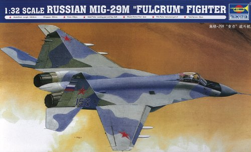 Trumpeter 1: 32 - Mikoyan Mig-29M Russian Fulcrum for sale  Delivered anywhere in USA