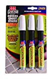 Grout-Aide 05040 Marker (3 Pack), 9.8ml, Grey