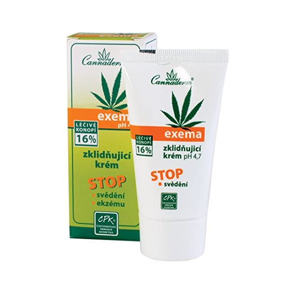 Natural Hemp Cream Treatment Skin with Eczema