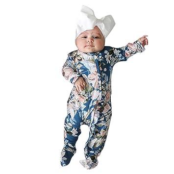 Amazon.com: Gallity pijama de algodón orgánico para bebé con ...