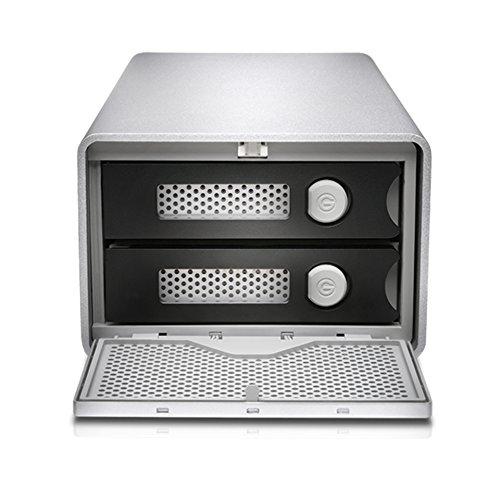 G-Technology G-RAID with Thunderbolt Dual Drive Storage System 8TB (Thunderbolt-2, USB 3.0) (0G04085)  by G-Technology (Image #3)