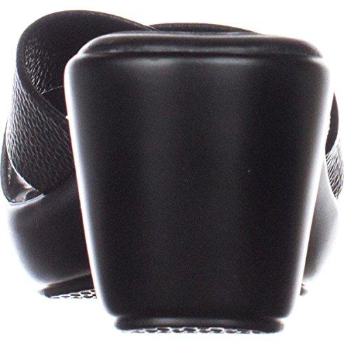 Callisto Womens Black Open Toe dimple Mules 6w06xqprY
