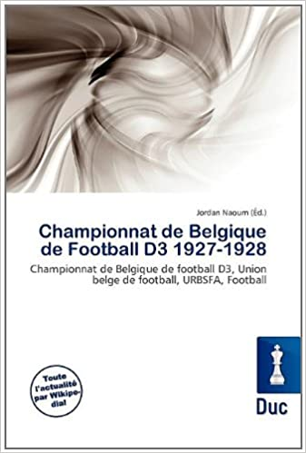 Lire Championnat de Belgique de Football D3 1927-1928 pdf ebook