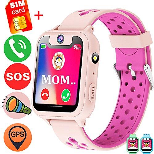 GBD GPS Tracker Kids Smart Watch Phone with