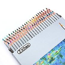 ZJchao Set of 72 Color Pencil Colour Marco Fine Art Drawing Oil Base Non-toxic Pencils Set For Artist Sketch