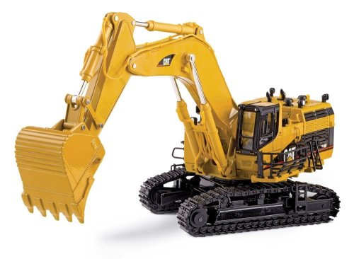 50 Scale Diecast Metal (Norscot Cat 5110B Excavator with metal tracks 1:50 scale)