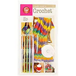 Boye Learn to Crochet Arts and Crafts Kit with 15 Projects and Supplies