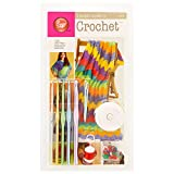 Boye Learn to Crochet Arts and Crafts Kit with 15