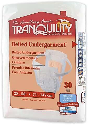 Adjustable Belted Undergarment Quantity: Casepack of 4