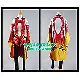 コスプレ衣装 ギルティクラウン 楪 いのり(ゆずりは いのり) 金魚服 cosplay--サイズ選択可 (女XL)
