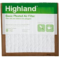 3M FBA11DC-6 Highland Basic Pleated Air Filter, 14 x 14 x 1