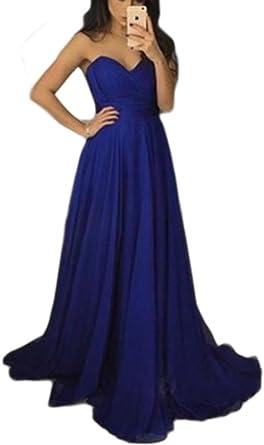 Navy Blue Bridesmaid Dress Simple