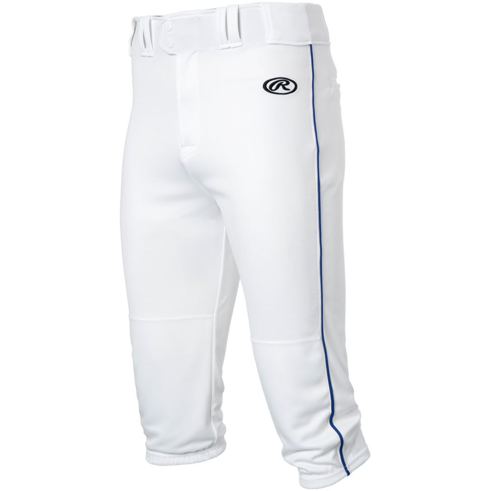 RawlingsメンズLaunch Piped Knickerパンツ B077885WYQ X-Large|White|Navy White|Navy X-Large