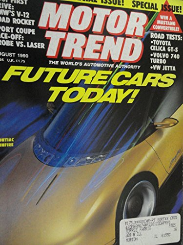 1990 Ford Probe / Plymouth Laser / Volvo 740 Turbo Wagon / VW Volkswagen Jetta / Toyota Celica / Road Test