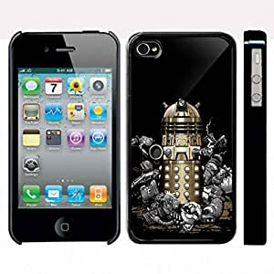Tardis doctor who Dalek Gold for iphone 5c case