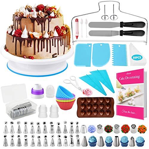 Hapeefun Cake Decorating Supplies kit, 95st Cake Decorating Set-cake decoreren apparatuur -cake decoreren tools met 32…