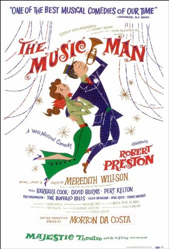 Amazon com: The Music Man (Broadway) 14 x 22 Poster - Style