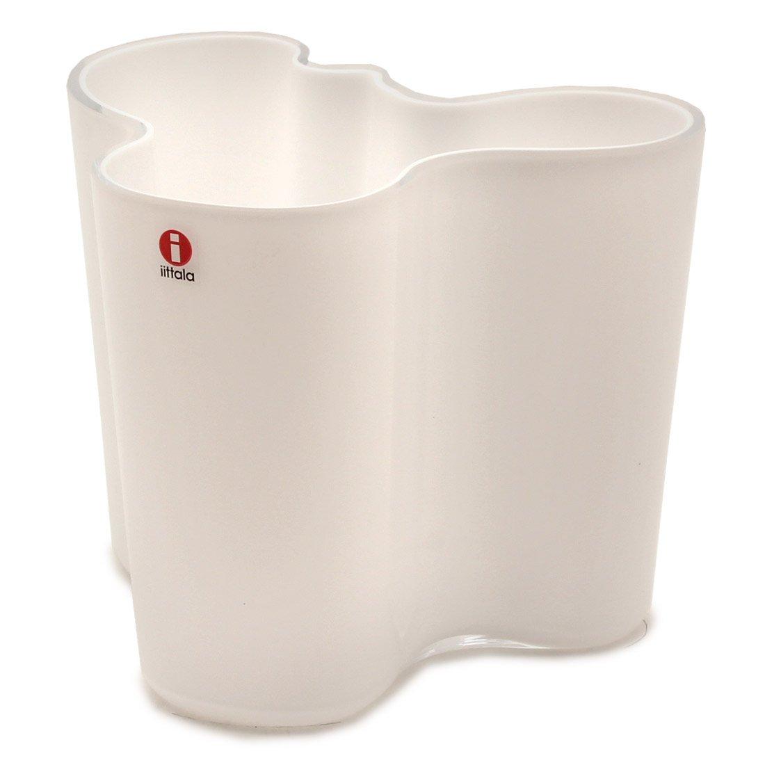 (イッタラ)IITTALA アルヴァアアルト フラワーベース 120mm 花瓶 06.ホワイト [並行輸入品] B01HGB1J0K フリー|06.ホワイト 06.ホワイト フリー