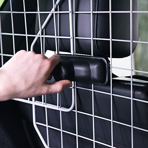 Dog Barrier for SUV's, Cars & Vehicles, Heavy-Duty - Adjustable Pet Barrier, Universal Fit by Jumbl Pet (Image #2)