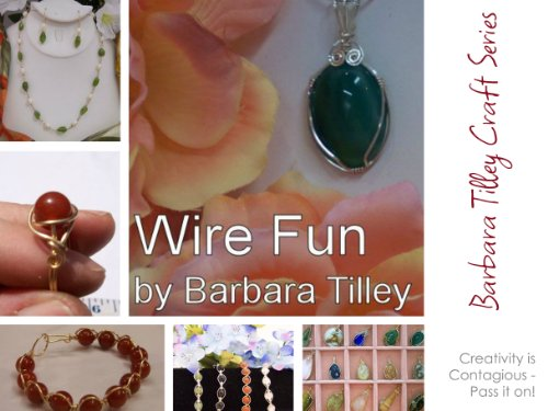 Wire Fun: A step by step guide to beginning wire wrapping (Barbara Tilley Craft Series Book 1)