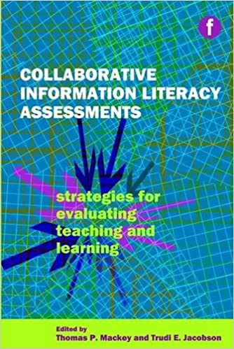 Book Collaborative Information Literacy Assessments: Strategies for Evaluating Teaching and Learning