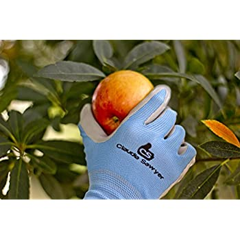 Perfect Gardening Gloves Women, 4 Pairs, Hypoallergenic, Nitrile Coated Garden  Gloves Protect Against Cuts And Dirt, Breathable, Stretchable Nylon, Blue  And Purple, ...