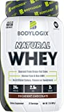 #1: Bodylogix Natural Grass-Fed Whey Protein Powder, NSF Certified, Decadent Chocolate, 2 Pound
