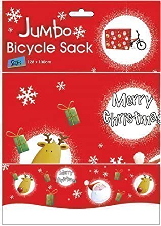 Papel de regalo gigante navideño para bicicleta, envoltura 128cm x ...