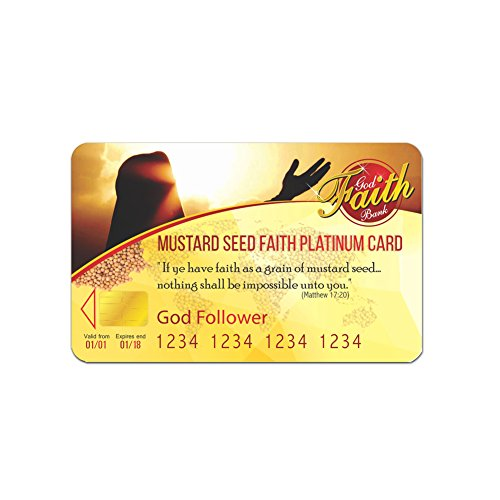 - Build your Divine Faith with Mustard Seed Faith Platinum Card