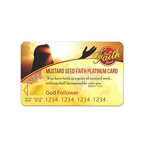 Build your Divine Faith with Mustard Seed Faith Platinum Card